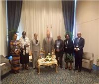 رئيس «الرقابة الإدارية» يلتقي عددا من الوفود على هامش المنتدى الإفريقي الأول لمكافحة الفساد