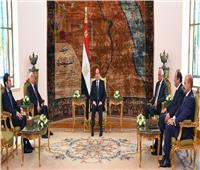 السيسي: موقف مصر ثابت لم ولن يتغير تجاه دعم الجيش الوطني الليبي