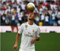 صور| هازارد: حققت حلم الطفولة.. ومتعطش لحصد الألقاب مع ريال مدريد
