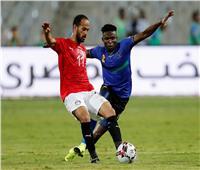 أمم إفريقيا 2019  انطلاق الشوط الثاني من مباراة مصر وتنزانيا