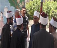 صور| أمين «البحوث الإسلامية» يتفقد منطقة وعظ القاهرة