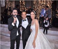 صور| نجوم الرياضة في زفاف ابنة أحمد سليمان.. وتامر حسني نجم الحفل