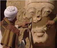 «الآثار»: عملية ترميم تمثال رمسيس الثالث تمت وفقا للمعايير الدولية