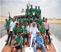 بالصور.. «مميش» يستقبل منتخب نيجيريا المشارك في البطولة الأفريقية