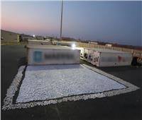 فيديو| صقور الداخلية تضبط شحنات مخدرات بـ260 مليون جنيه