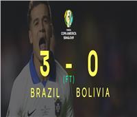 فيديو | البرازيل تفوز على بوليفيا بثلاثية نظيفة في افتتاح كوبا أمريكا