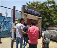 ثانوية عامة 2019| طلاب شبرا يحتشدون أمام اللجان استعدادا لأداء «الاستاتيكا»