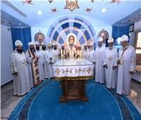تدشين كنيسة الشهيد القوي بكنيسة العذراء بالوجوه