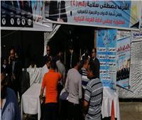 صور| إقبال كثيف في الساعات الأولى بانتخابات الغرفة التجارية بالإسكندرية