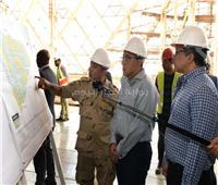 رئيس الوزراء يتفقد آخر تطورات الأعمال الإنشائية للمتحف المصري الكبير