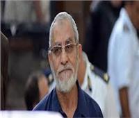 تأجيل محاكمة بديع وآخرين بـ«اقتحام قسم العرب» لـ27 يوليو