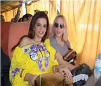 صور| رحلة ترفيهية للسفيرة زينب رشيد وشرين رضا بالسويس لدعم مستشفى بهية