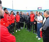 بسام راضي: السيسي طالب لاعبي المنتخب ببذل الجهد والتحلي بالروح الرياضية