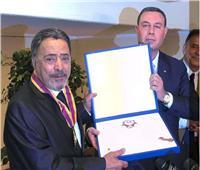 فيديو| تكريم يوسف شعبان من سفير فلسطين