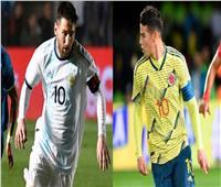 الأرجنتين وكولومبيا.. «راقصو التانجو» يبحثون عن لقب غائب من ربع قرن