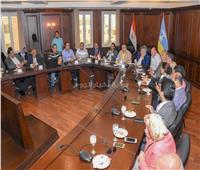 محافظ الإسكندرية يبحث مع وفد مجلس النواب الاستعداد لاستقبال أمم إفريقيا