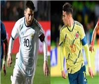 فيديو| كولومبيا تضرب الأرجنتين بالهدف الثاني
