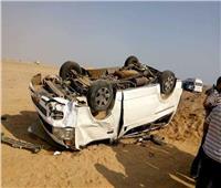 مصرع 3 مواطنين في حادث انقلاب سيارة بشرم الشيخ