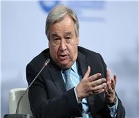 الأمين العام للأمم المتحدة يوجه  رسالة للمجتمع الدولي