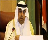 رئيس البرلمان العربي يلتقي وفد النواب اليمني