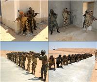 دول تجمع «الساحل والصحراء» تواصل التدريب على مكافحة الإرهاب بقاعدة محمد نجيب