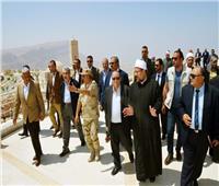 وزير الأوقاف من مدينة الجلالة: نفخر بالإنجازات على أرض مصر
