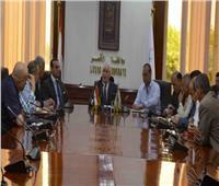 نائب محافظ الاقصر يتفقد عددا من المشروعات بمركز ومدينة الزينية