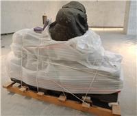 «أمنمحات الثالث» أول قطعة أثرية تعرض بمتحف الحضارة