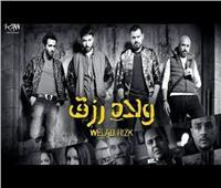 صورة| أحمد عز ومنى ممدوح في كواليس «ولاد رزق 2»