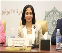 مايا مرسي: مصر لا تألو جهدًا لبدء عمل منظمة تنمية المرأة