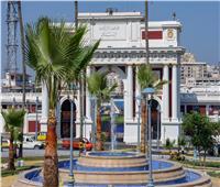 محافظ الإسكندرية يتفقد اللمسات النهائية بحديقة الإسعاف