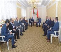 تفاصيل لقاء السيسي مع ممثلي مجتمع الأعمال ورؤساء كبرى الشركات في بيلاروسيا
