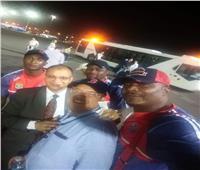 منتخب الكونغو يصل مطار القاهرة