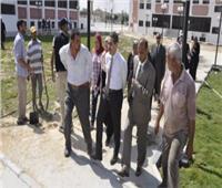 الانتهاء من التجهيزات النهائية لمركز تنمية الموارد البشرية بجامعة قناة السويس