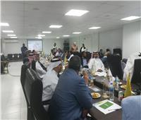 صور| وفد مستثمرين سعودي يزور مدينة العلمين الجديدة