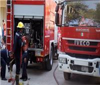 السيطرة على حريق عوامة سياحية في البدرشين