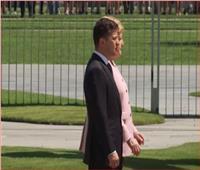 فيديو| «ميركل» ترتجف أثناء استقبال رئيس أوكرانيا.. ومخاوف بشأن صحتها
