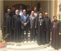 اللجنة التنفيذية لمجلس كنائس مصر تجتمع في بيت الطائفة الإنجيلية بمصر الجديدة
