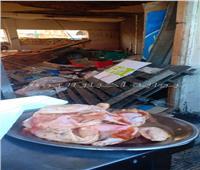 الصحة: إعدام 4 أطنان أغذية فاسدة بالساحل الشمال