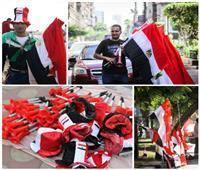 بطولة أمم أفريقيا| «مزامير وأعلام وقبعات».. بيزنس خفي بملايين الجنيهات