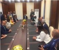 صور| أول اجتماع لمكتب منظمة المدن والحكومات الأفريقية في القاهرة