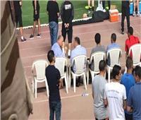 الخطيب يزور مران المنتخب.. ويؤكد على دعم ومساندة الجهاز الفني واللاعبين