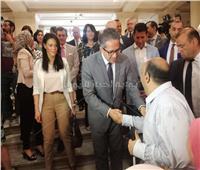 وزراء الآثار والسياحة والشباب يفتتحون مسار المكفوفين بالمتحف المصري