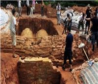 اكتشاف مقابر عمرها 2000 عام وسط الصين