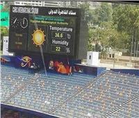 فيديو| الأرصاد تكشف تفاصيل المحطة الجوية داخل استاد القاهرة
