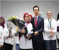 فتاة مصرية تفوز بمسابقة كورية وتسافر إلى «سول»