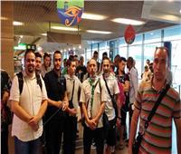 صور| مطار القاهرة يستقبل منتخب غينيا بيساو