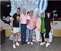 صور| المنتج خاطرو أنور يحتفل بعيد ميلاد حفيده بالإسكندرية