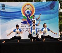 سفارة الهند تحتفل باليوم العالمي الخامس لليوجا
