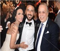 80 صورة للنجوم والمشاهير من زفاف محمد مهران ومي عبد الحافظ